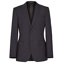 Buy Reiss Point Check Wool Suit Jacket, Navy Online at johnlewis.com