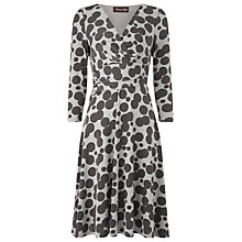 Buy Phase Eight Fabiola Spot Dress, Charcoal/Silver Online at johnlewis.com