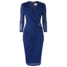 Buy Phase Eight Everleigh Mesh Dress, Cobalt Online at johnlewis.com