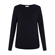 Buy Hobbs Carly Wool Jumper, Navy Melange Online at johnlewis.com