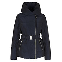 Buy Hobbs Siobhan Padded Jacket, Navy Online at johnlewis.com
