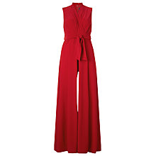 Buy Phase Eight Roxanne Jumpsuit, Red Online at johnlewis.com