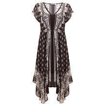 Buy Mint Velvet Penny Print Handkerchief Dress, Multi Online at johnlewis.com