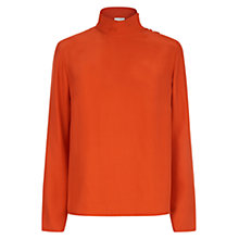 Buy Hobbs Angie Silk Blouse Online at johnlewis.com
