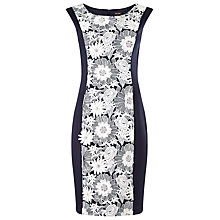 Buy Phase Eight Belle Dress, Navy/Ivory Online at johnlewis.com