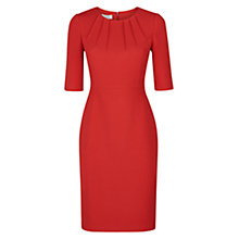 Buy Hobbs Rhian Dress, Hot Red Online at johnlewis.com