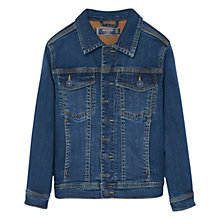Buy Mango Kids Boys' Denim Jacket, Blue Online at johnlewis.com