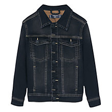 Buy Mango Kids Boys' Denim Jacket, Grey Online at johnlewis.com