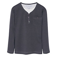 Buy Mango Kids Boys' Patch Pocket Top Online at johnlewis.com
