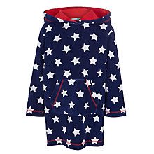 Buy John Lewis Boys' Star Poncho, Navy Online at johnlewis.com
