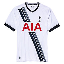 Buy Under Armour Tottenham Hotspur 2015/16 Home Shirt, White Online at johnlewis.com