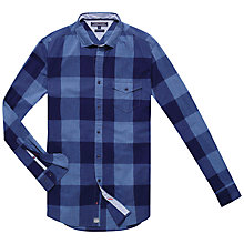 Buy Tommy Hilfiger Brimsom Check Shirt, Dutch Navy Heather Online at johnlewis.com