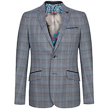 Buy Ted Baker Piibald Tonal Check Suit Jacket Online at johnlewis.com