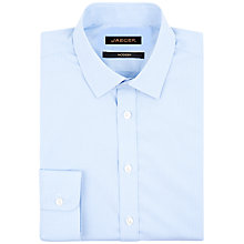 Buy Jaeger Micro Gingham Modern Fit Shirt Online at johnlewis.com