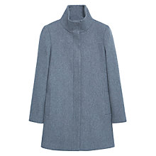 Buy Mango Funnel Neck Coat Online at johnlewis.com