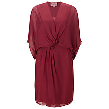 Buy Phase Eight Kacie Kimono Dress, Light Berry Online at johnlewis.com