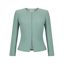 Buy Hobbs Aphra Jacket, Cameo Green Online at johnlewis.com