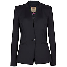 Buy Ted Baker Chayy Neoprene Suit Jacket, Black Online at johnlewis.com