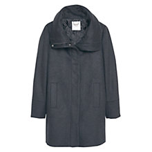 Buy Mango Cotton Cashmere-Blend Coat Online at johnlewis.com