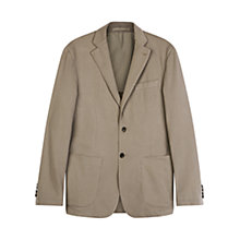 Buy Aquascutum Lambourn Garment Dyed Moleskin Slim Fit Suit Jacket, Beige Online at johnlewis.com