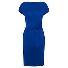 Buy Warehouse Twist Detail Day Dress, Blue Online at johnlewis.com