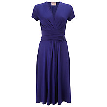Buy Phase Eight Lizzy Wrap Dress, Moody Blue Online at johnlewis.com