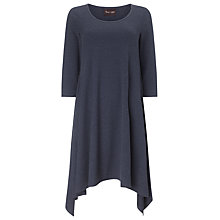Buy Phase Eight Georgia Godet Hem Dress, Navy Online at johnlewis.com