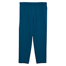 Buy Violeta by Mango Baggy Trousers, Bright Green Online at johnlewis.com