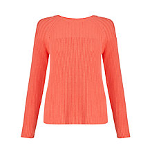 Buy Collection WEEKEND by John Lewis Chunky Rib Jumper Online at johnlewis.com