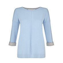 Buy Collection WEEKEND by John Lewis Cashmere Turn Back Cuff Jumper Online at johnlewis.com