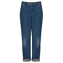 Buy Collection WEEKEND by John Lewis Boyfriend Jeans, Mid Wash Indigo Online at johnlewis.com