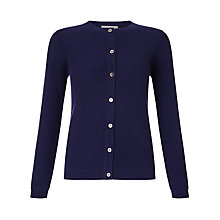 Buy Collection WEEKEND by John Lewis Cashmere Ribbed Cardigan Online at johnlewis.com