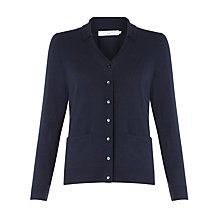 Buy John Lewis Cashmere-Blend Vintage Collar Cardigan Online at johnlewis.com