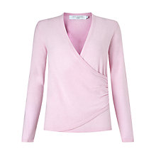 Buy John Lewis Cashmere-Blend Wrap Jumper Online at johnlewis.com
