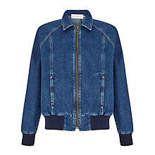 Buy Collection WEEKEND by John Lewis Denim Jacket, Indigo Online at johnlewis.com