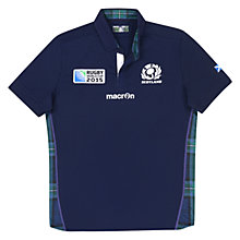 Buy Macron Rugby World Cup Children's Scotland Rugby Shirt, Navy Online at johnlewis.com
