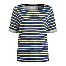 Buy Seasalt Dinnabroad Sweatshirt, Morning Tide Squid Ink Online at johnlewis.com