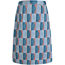 Buy Seasalt Lawhippet Skirt, Scraffito Circle Mist Online at johnlewis.com