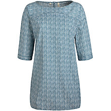 Buy Seasalt Trewethen Tunic, Stone Wall Seaspray Online at johnlewis.com