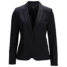 Buy Selected Femme Foxylux Blazer, Black Online at johnlewis.com