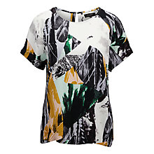 Buy Selected Femme Alley Graphic Print Top, Multi Online at johnlewis.com