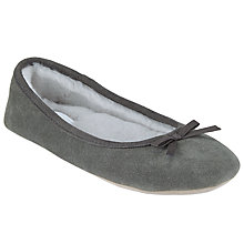 Buy John Lewis Suede Ballerina Slippers Online at johnlewis.com