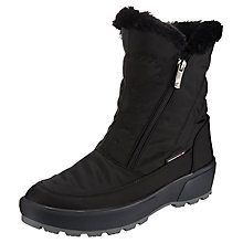 Buy John Lewis Alaska Ankle Boots, Black Online at johnlewis.com