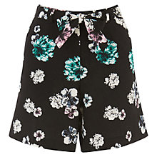 Buy Oasis Peony Print City Shorts, Multi Online at johnlewis.com