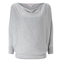 Buy Phase Eight Bevan Batwing Cowl Neck Jumper, Grey Marl Online at johnlewis.com