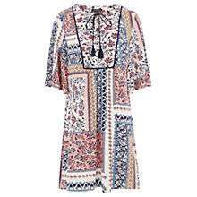 Buy Warehouse Patchwork Print Dress, Multi Online at johnlewis.com