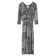 Buy East Marrakesh Jersey Dress, Black Online at johnlewis.com