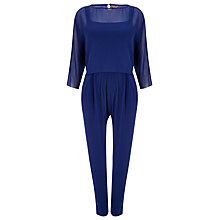 Buy Phase Eight Odel Jumpsuit, Cobalt Online at johnlewis.com