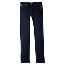 Buy Mango Straight Alice Jeans, Open Blue Online at johnlewis.com