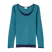 Buy East Double Layer Top, Kingfisher Online at johnlewis.com
